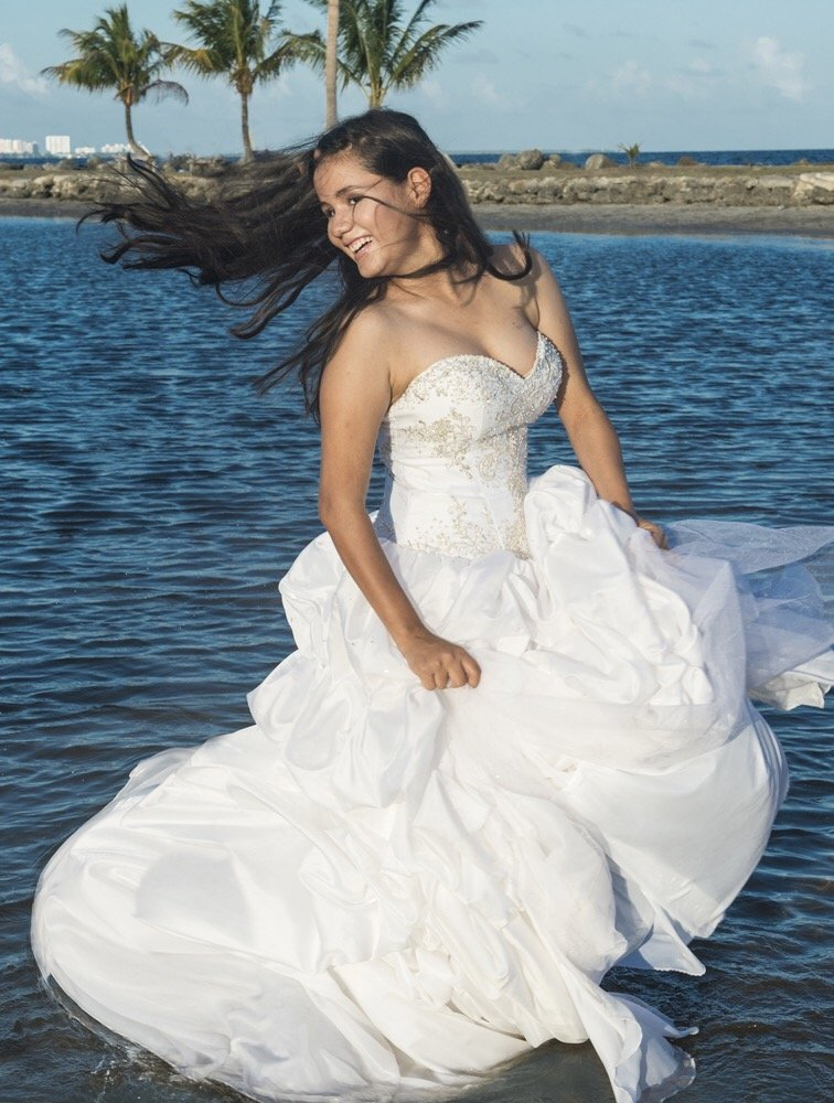 quinceanera pictures at the beach